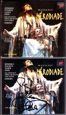 Placido DOMINGO Renee & FLEMING Signiert MASSENET: HERODIADE Valery GERGIEV 2CD