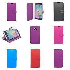 Per Samsung Galaxy S7 Edge Portafoglio Libro Flip in Vari Colori Custodia Cover