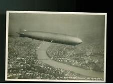1930 Switzerland Graf  Zeppelin RPPC postcard cover