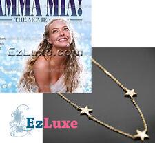 Meryl Mamma Mia 3 three Star Necklace hollywood movie british broadway musical