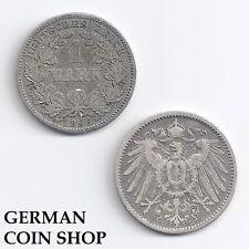 1 Mark SILBER 1891-1916 A D E F G J - bitte auswählen - Kaiserreich