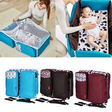 Multi-Function Folding Travel Crib Newborn Baby Bag Diaper Bag Portable
