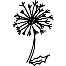 'Dandelion Clock' Rubber Stamp (RS022638)