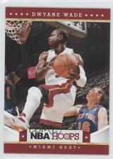 2012-13 NBA Hoops Artist's Proof #157 Dwyane Wade Miami Heat Basketball Card
