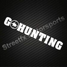 GO HUNTING hunter advocate sticker
