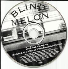 BLIND MELON 1995 IN STORE SAMPLER 5 TRX PROMO Radio DJ CD Single DPRO 79655 MINT