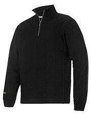 Snickers 2813 Heavy Zipped Sweatshirt Mens SnickersDirect Black