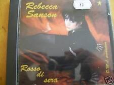 REBECCA SANSON ROSSO DI SERA CD MINT-