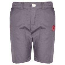 Boys Shorts Kids Grey Chino Shorts Summer Knee Length Half Pant New Age 2-13 Yr