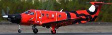 PC-12 Dexter Air Taxi Pilatus PC12 Airplane Kiln Wood Model Replica Large New