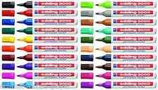 Edding 3000 Permanentmarker 1,5 - 3mm 13 Farben wählbar Permanent Marker