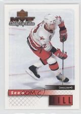 1999-00 Upper Deck MVP Stanley Cup Edition 40 Sean Hill Carolina Hurricanes Card
