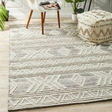 Rhone Moroccan Tribal Beige Modern Floor Rug - 3 Sizes **FREE DELIVERY**