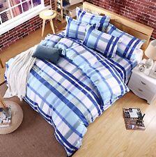 Set Letto Copri Piumone Lenzuolo Federe Copripiumone Duvet Cover Set BED0022 B P