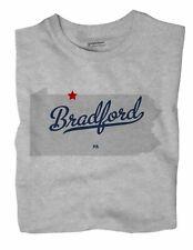 Bradford Pennsylvania PA Penn T-Shirt MAP