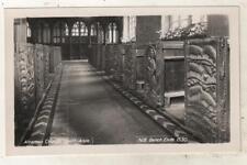CORNWALL - ALTARNON CHURCH, SOUTH AISLE, BENCH ENDS  R.P. Postcard (nr TRURO) *