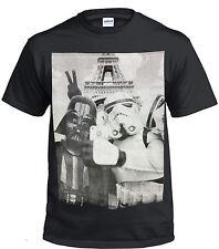 Darth VADER STORM TROOPER SELFIE pantalla Impreso Camiseta de algodón/Gracioso/Star Wars