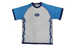 T-Shirt da bambino bianca Cacao manica corta girocollo junior casual cotone