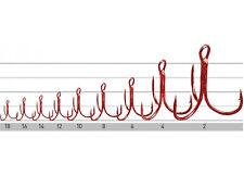 Owner st36rd/Drilling Crochet treble hooks/sizes: #18 - #2/6-8 Pièces