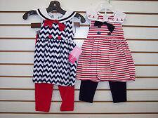 Infant, Toddler, & Girls Good Lad 2pc Sailor Sets Size 12 Months - 6X