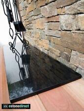 Black Polished Granite Fireplace Hearth -  1500x400x20mm Bbq top, Mantle, Vanity