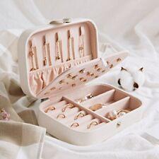 Portable Travel Jewelry Box Organizer Velvet Ornaments Case Storage Fashion Gift