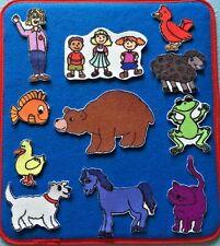 Brown Bear Felt / Flannel Board Set