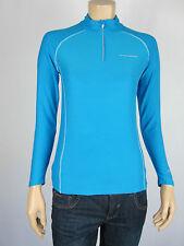 Kids Slazenger Sport 3/4 Zip Runner Training Top sizes 10 12 14 Colour Blue