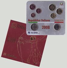 Italy 2008 - Official Euro Coin Set (BU)