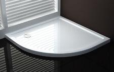 Piatto doccia semicircolare 80x80 90x90 100x100 sottile in acrilico rinforzato|