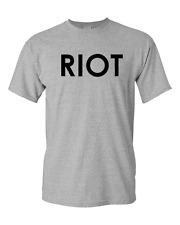 Mac's RIOT T-Shirt It's Always Sunny in Philadelphia New  Grey S-3XL