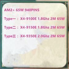 AMD Phenom X4 X4-9100E  X4-9150E X4-9350E Socket AM2 940 pin 2M /65W CPU