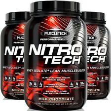 Muscletech nitro-tech/Nitrotech Aislado de proteína 907g/0.9kg