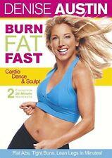 Denise Austin: Burn Fat Fast (Cardio, Da DVD