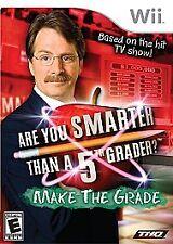 Are You Smarter Than a 5th Grader Make the Grade (Nintendo Wii, 2008)