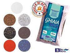 Sabbia per Acquario Ghiaia 5 KG  BluBios Fondo Acquari Colorata