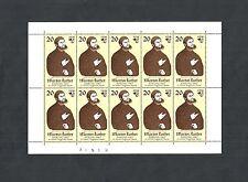 DDR 1982, Michelnummer: 2755 **, postfrischer Kleinbogen, Katalogwert € 10,00