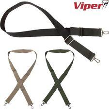 VIPER TACTICAL BASIC RIFLE SLING AIRSOFT HUNTING AIR RIFLE GUN STRAP BLACK GREEN