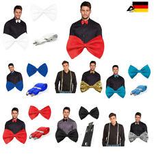 Hosenträger Fliege Hochzeit Konfirmation Anzug Smoking Schleife Y Form Krawatte