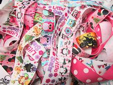 "10 yards Roll Grosgrain 7/8"" Ribbon Supplies/cute/kid/Craft RY-Pick Design 21-30"