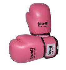 """Boxhandschuhe Echtes Leder ROSPORT """" Ladie´s Pink """",  von 08 bis 12 Oz"""
