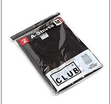 Lot 3 PRO CLUB A SHIRTS TANK TOP BLACK ProClub Mens Wife Beater Undershirt S-5XL
