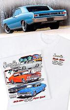 Make Mine SS Chevelle T-Shirt - 1966 1968 1969 1970 SS396 SS454 LS5 LS6 L34 L78