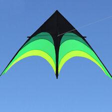 NEW 1.8m 70 In Prairie Triangle Kite Flying Outdoor Fun Sports Delta kites