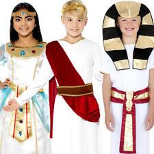 Ancient Kids Fancy Dress Historical Egyptian Greek Roman Children Costume Outfit