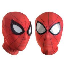 Infinity War Iron Spider Man Cosplay Costumes Lycra Mask Superhero Lenses 3D