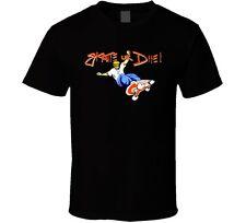 Skate Or Die NES Retro Video Game T Shirt