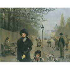 Spring Morning, Haverstock Hill - G Clausen Print