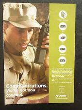 2/05 PUB HARRIS MILITARY COMMUNICATIONS VHF UHF HF MULTIBAND RADIO FALCON II AD