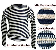 Russian Striped T-Shirt Navy Telnjaschka 100% Cotton Military Marine Navy USSR